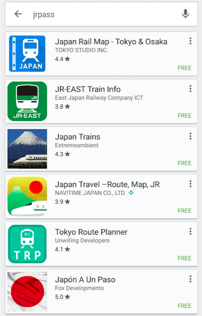 googleplay jrpass