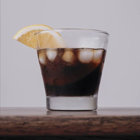orange coldbrew theblackowlcoffee