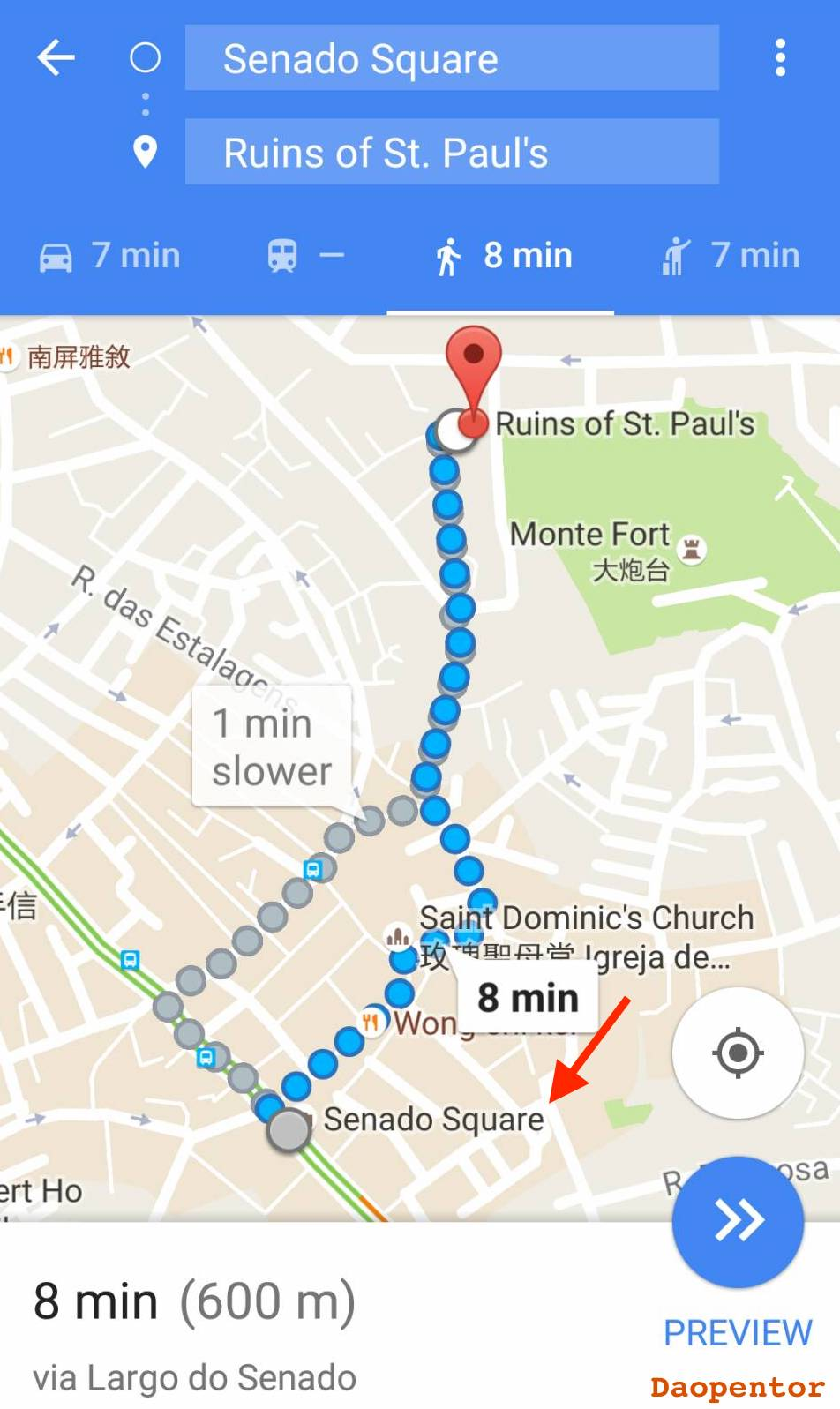 Google Map By Daopentor